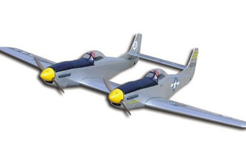 1/8 Scale North American WW-II P-82E F-82 Twin Mustang Plans,Templates 78ws