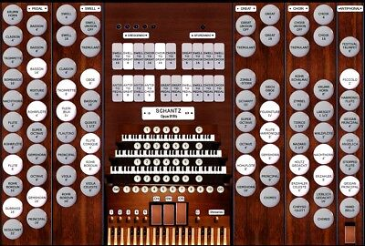 Organs - Manual Pipe Organ