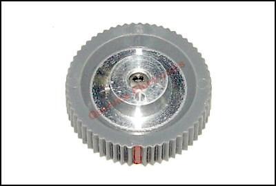 1 Pc Tektronix Knob Gray Round With Red Index Ref Q009995