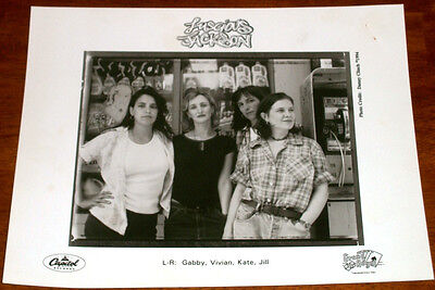 Luscious Jackson 8x10 B&W Press Photo Grand Royal Capitol Records 1994