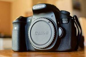 Canon EOS 60D Body Digital SLR Camera + Battery + Charger + Bag Perth Perth City Area Preview
