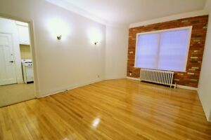LARGE BRIGHT HEATED 2 BR APT IN NDG – APPLIANCES INCL.