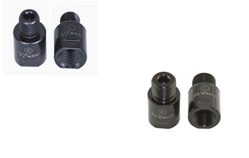 """Bicycle Pedal ADAPTERS Converts 1/2"""" to 9/16"""" OR 9/16"""" to 1/2"""""""