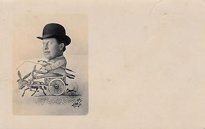 Vintage Whimsical Postcard