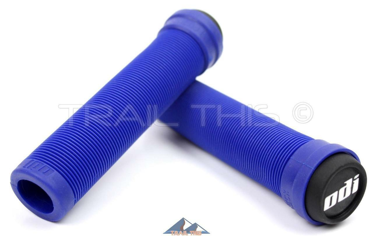 Odi MX Longneck SL No Flange Grip, Blue, 143mm