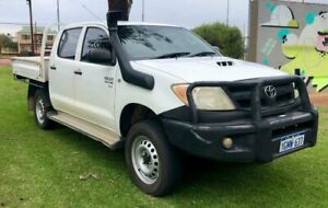 2006 Toyota Hilux SR Manual 3.0L Diesel 4x4 Dual Cab Ute $15 990 With 15 Months Warranty