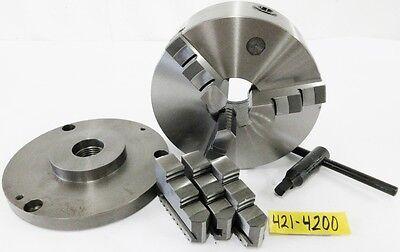 Savon 8 3 Jaw Manual Lathe Chuck 1-12 8 Spindle Mounting
