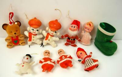 VINTAGE FELT Christmas Ornaments