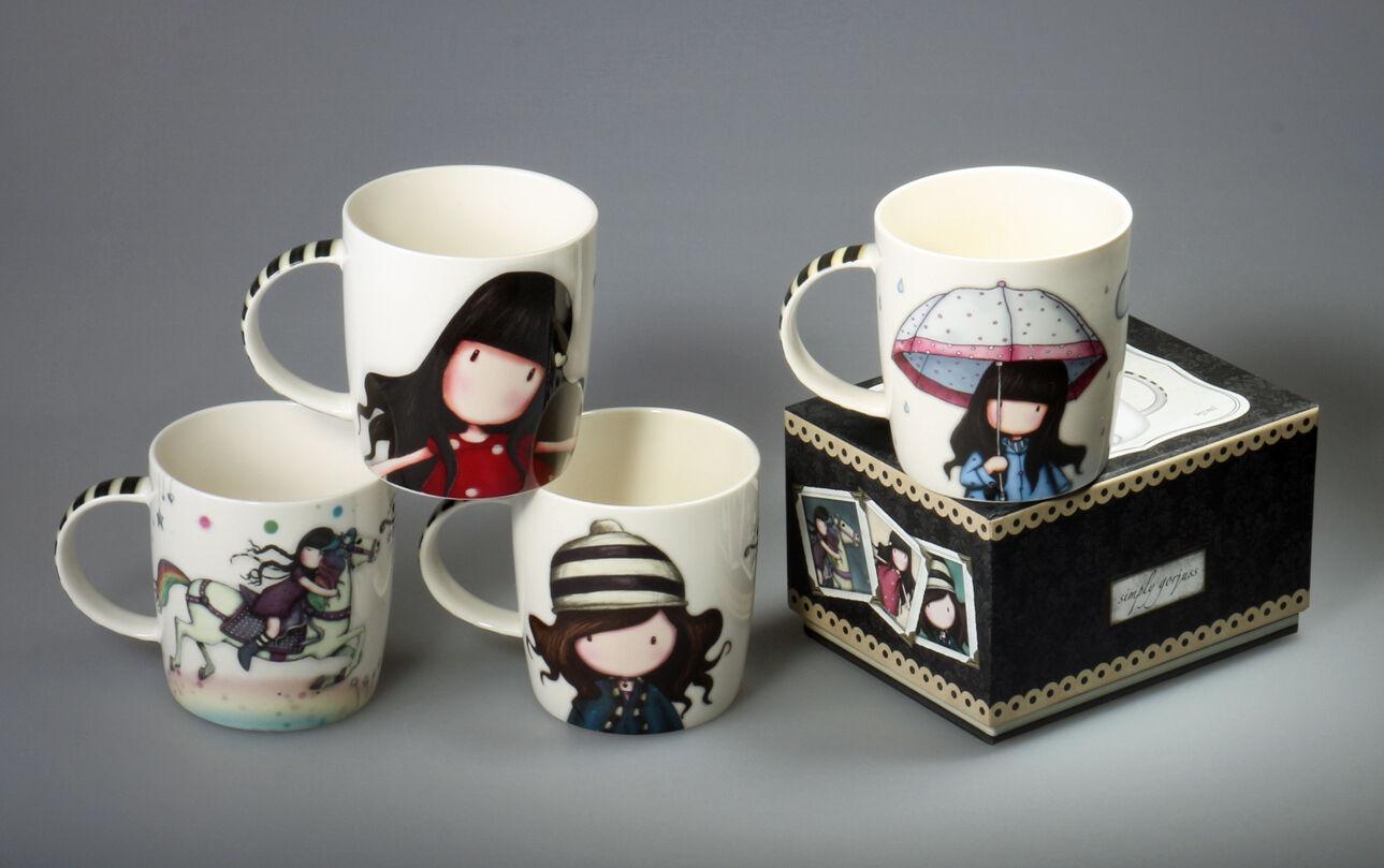 Fine Porcelain Tea/Coffee Set Dishwasher Microwave Safe  - $39.99