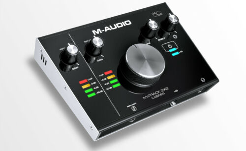 M-Audio M-Track 2X2 2 In / 2 Out 24/192 USB Audio Interface