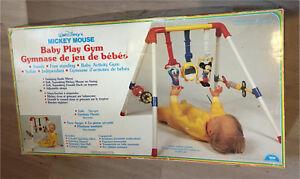 Vintage Disney Mickey Mouse Baby Play Gym Illco