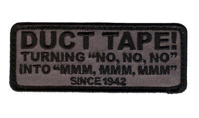 DUCT TAPE Since 1942 ACU TACTICAL COMBAT MILSPEC HOOK PATCH