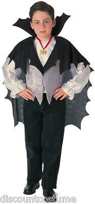 CLASSIC VAMPIRE DRACULA HALLOWEEN COSTUME CHILD SIZE SMALL 4-6 - Classic Vampire Child Halloween Costume
