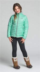 NORTH FACE GIRLS' REVERSIBLE MOSSBUD SWIRL JACKET
