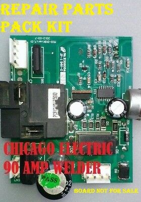 Chicago Electric Controller Board  Mig-zkb Ver7.0  Repair Kit