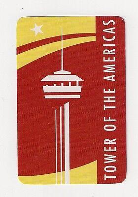 "bridge deck Souvenir Playing Cards ""Tower of the Americas"" amusement park, TX"