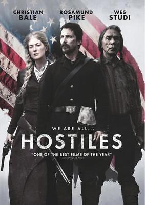 2018 New Release Dvd Movie  Hostiles   Free First Class Shipping
