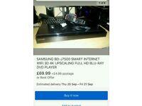 Samsung smart Internet Blu Ray box