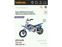 Razor motorcross dirt bike £130 ono