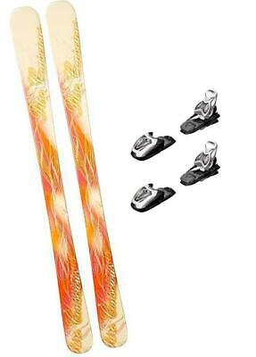 как выглядит 140CM LCV PURE SKIS WITH MARKER 4.5 BINDINGS PACKAGE WOMENS GIRLS YOUTH k2-145 фото