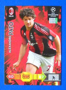 CARD PANINI ADRENALYN CHAMPIONS LEAGUE 2010/11 - PATO - MILAN - Italia - L'oggetto può essere restituito - Italia