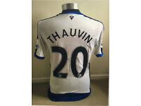 Unwashed Match Worn Florian Thauvin 2015/16 home shirt