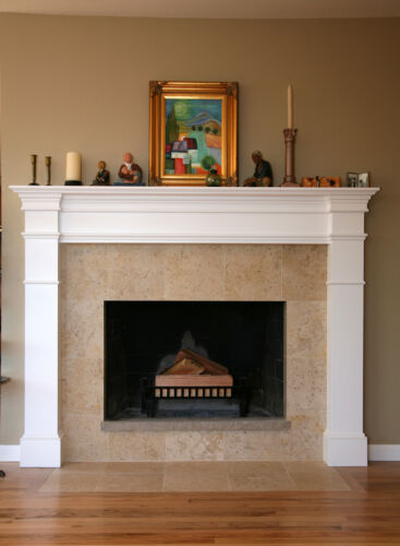Build Your Own Fireplace Surround