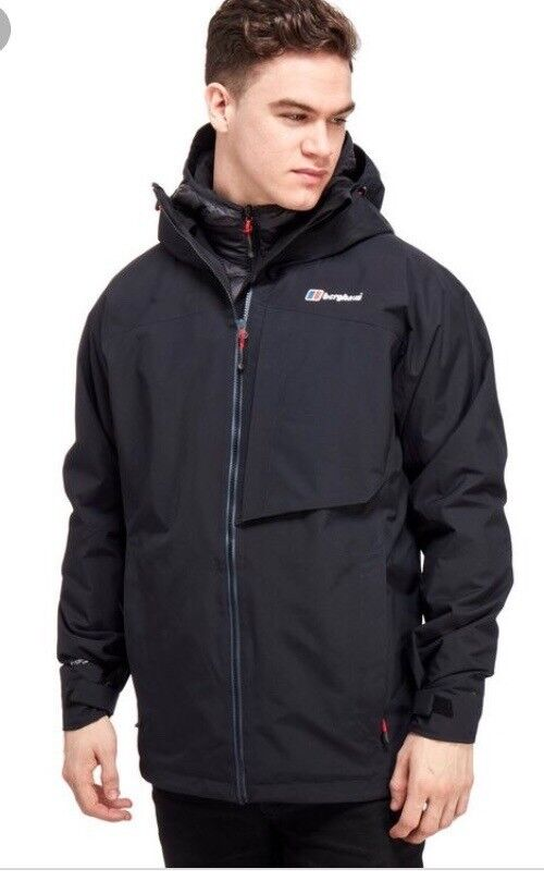Berghaus Ben alder 3-1 size l only worn once or twice, really warm winter jacket.