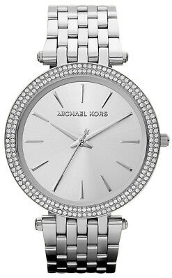 Michael Kors Women's MK3190 Darci Glitz Stainless Steel with Pave Bezel Watch