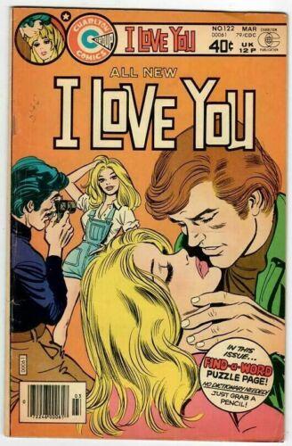 🚚 I Love You No.122 Charlton March 1979  Bronze-Age 40c  Romance Comic  in 5.0