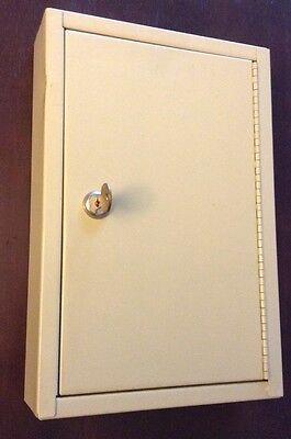 Lockbox Cabinet 30 Key Locking Safe Wall Mount Major Metalfab Co. Usa