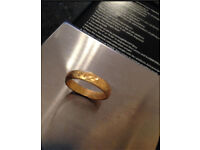22ct gold Indian ring