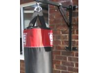 Boxing bag bbe with wall bracket + can deliver