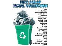 ♻️♻️ free scrap metal collection same day pick up