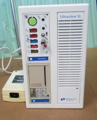Spacelabs Ultraview Sl 91387 W Power Supply And 91496 Module Printer Also