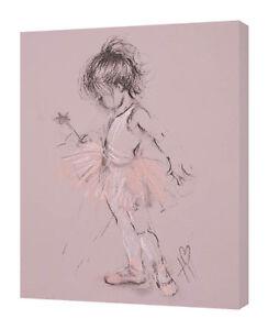 Hazel Bowman - Little Ballerina II - 30 x 40cm Canvas Print Wall Art WDC92781