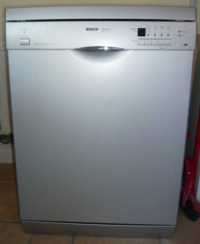 Bosch exxcel Dishwasher manual e24