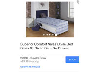 Two single Divan beds with mattresses & storage !!!!!