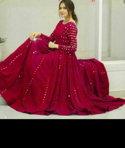 Anarkali Shalwar Suit designer Pakistani Salwa kameez Indian Suit dress