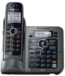 Brand New Panasonic KX-TG7641 Cordless Phone digital answering machine DECT6.0