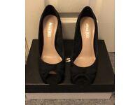 Miss KG high heels black peep toe