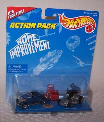 1996 Mattel Hot Wheels Action Pack - Home Improvement - New & Sealed in Pkg.