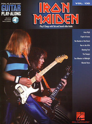 Iron Maiden Guitar Play-Along Gitarre Noten Tab mit Download Code