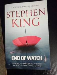 Stephen King - End of Watch Dudley Park Port Adelaide Area Preview