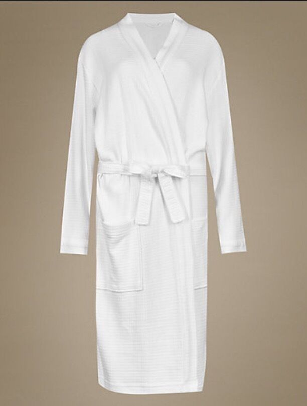 Mother of the Bride white waffle dressing gown | in Lenzie, Glasgow ...