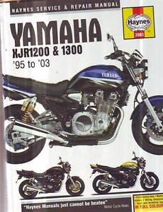 YAMAHA XJR1200 XJR1300 WORKSHOP SERVICE REPAIR MANUAL******2003 Sefton Bankstown Area Preview