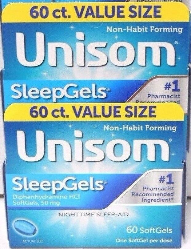 Unisom Sleep Gels, 60 Count