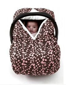 Ruby and Ginger Cosy Car Seat cover - berries