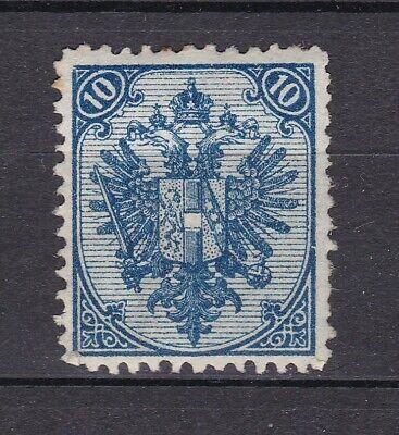 Bosnia Herzeg - 1890 -  Michel 5 I - Wir Zahnung 12 - Steindruck - MH - 320 Euro