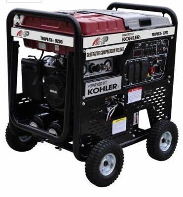 Triplex 9200 3 In 1 Generatorweldercompressor